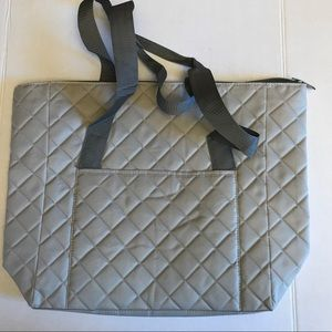 DSW Quilted Zipper Tote Bag New in Package